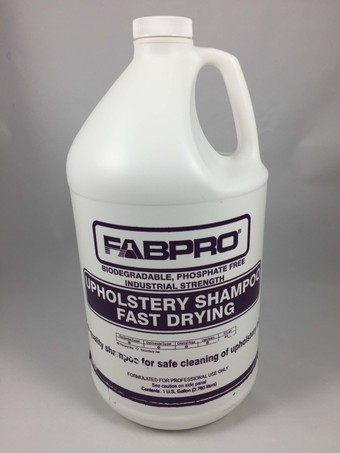 Upholstery Shampoo Fast Drying