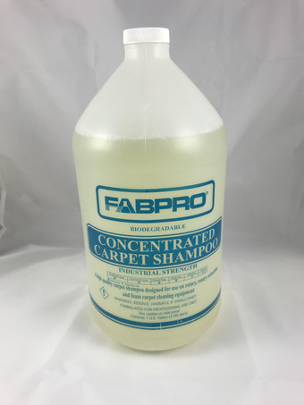Concentrated Carpet Shampoo